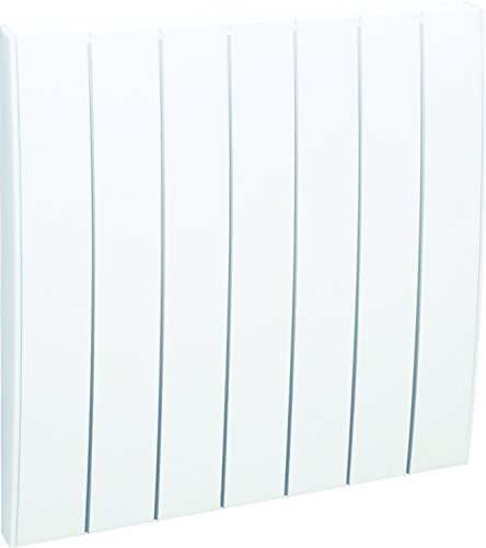 Airelec AIRA692795 radiator met droge traagheid, veer, horizontaal, 1500 W, wit