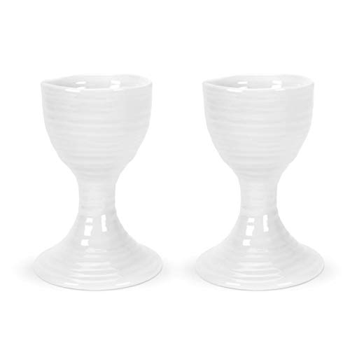 Portmeirion Home & Gifts CPW76897-X Eierbecher, porzellan, weiß