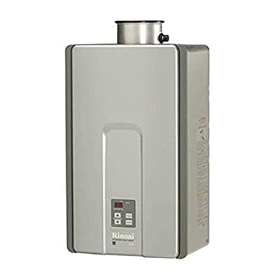 Rinnai RL Model Tankless Hot Water Heater: Indoor Installation, RL94iN - Natural Gas/9.4 GPM