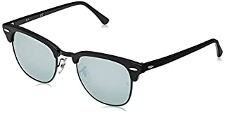Ray-Ban RB3016 Clubmaster Square Sunglasses, Black on Gold/Green, 51 mm (B001GNBJR8) | Amazon price tracker / tracking, Amazon price history charts, Amazon price watches, Amazon price drop alerts