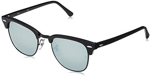 Ray-Ban Clubmaster Gafas de sol, Black, 51 para Hombre