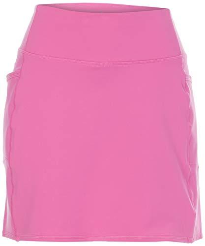 Skechers womens Go Walk Go Flex Skort, Hot Pink, Large US