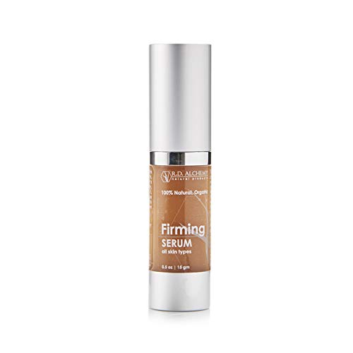 100% Natural & Organic Firming Serum to Tighten Skin for Sagging Face, Loose Jowls, and Neck. Best Skin Tightening Facial with this Peptide Serum. Natural Skincare for Professionals & Estheticians.
