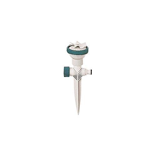 RACO Expert 20214 Arroseur Circulaire sur Pique Carte, Blanc, 24x9x6,5 cm