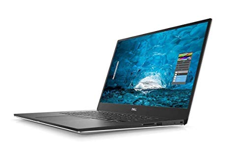 Dell XPS 9570 Laptop, 15.6in UHD (3840 x 2160) InfinityEdge Touch 8th Gen Intel Core i7-8750H 16GB RAM 512GB SSD GeForce GTX 1050Ti Fingerprint Reader Windows 10 Pro, Silver (Renewed)