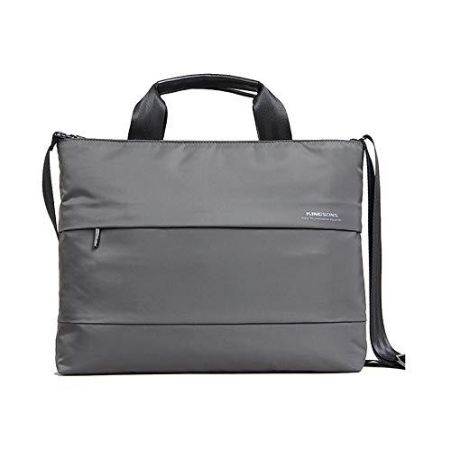 Kingsons Charlotte Series Shoulder Bag for 15.4-Inch Laptop - Grey
