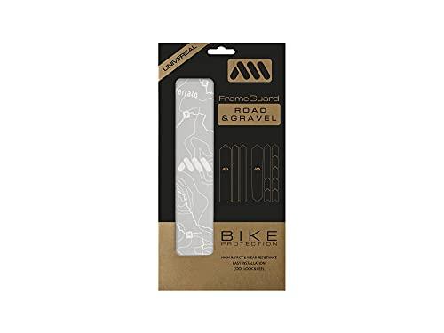 All Mountain Style Ams Paratelaio per Gravel Bike/Bici da Strada, Unisex-Adult, Sterrato Bianco, Universal