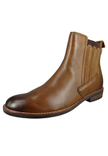 MARCO TOZZI Damen by Guido Maria Kretschmer Leder Boot 2-2-85300-25 Chelsea-Stiefel, Cognac Antic, 41 EU