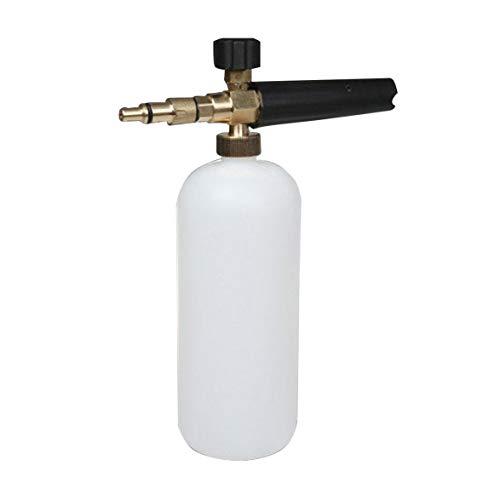 Logicstring Herramienta De Botella De Jabón para Lavadora A Presión con Lanza De Espuma para Karcher Bosch Lavor Nilfisk Kit Accesorios Esenciales Estilo Aleatorio