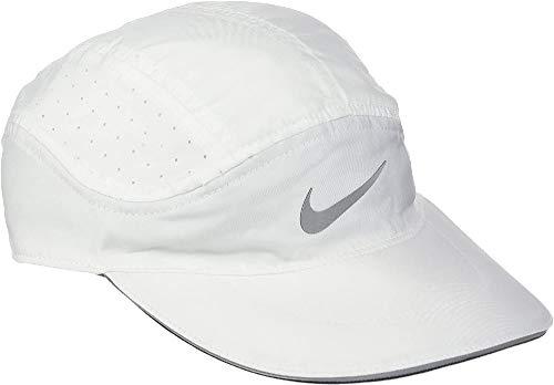 NIKE W Nk Arobill TW Elite Gorra, Mujer, Blanco (White/Cool Grey), Talla Única