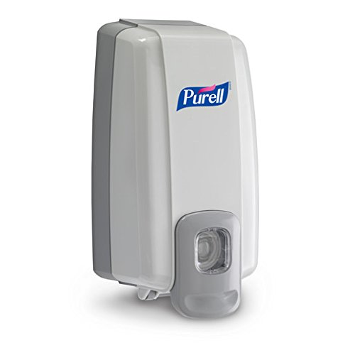 Purell NXT Space Saver Hand Hygiene Dispenser Dove Gray Plastic Push Bar 1000 mL Wall Mount 1 ea (Pack of 2)