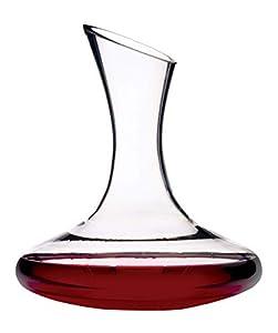 Decantador de vino de cristal de Kitchencraft Barcraft de 1,5l