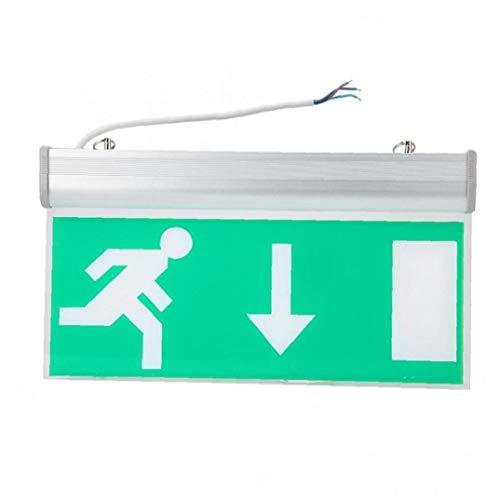PiniceCore Acryl Led Beleuchtung Notausgang Zeichen-sicherheits-evakuierung Kontrollleuchte 110-220v Für Hotel Hospital Bibliothek