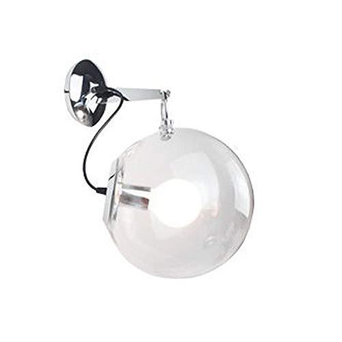 HDDD Moderne lantaarn creatieve glazen wand van de bol persoonlijkheid creatief woonkamer slaapkamer werkkamer slaapkamer nachtkastje wandlamp E27 * 1 licht wandlamp