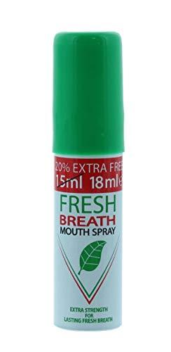 Corsair Fresh Breath Mouth Spray United kingdom Product- 15ml - (Pack of 1) (Peppermint)