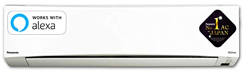 Panasonic 1.5 Ton 5 Star Wi-Fi Twin Cool Inverter Split AC (Copper, CS/CU-NU18WKYW, White, Powered...