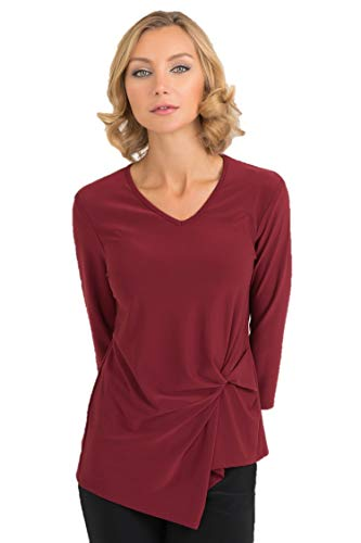 Joseph Ribkoff Imperial Red Top Style - 193138 Fall 2019 (10)