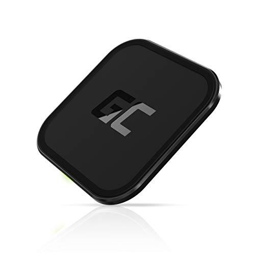GC AirJuice 15W Qi Wireless Charger Ladepad, Kabelloses Ladegerät Qi-Zertifiziert Blitzschneller Ladeständer für Samsung Galaxy S20/S10| Note 10/9 | iPhone 12/11/XR/XS/X/8 | Xiaomi Mi 10/9 | AirPods
