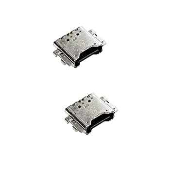 PHONSUN USB Data Charging Port for Samsung Galaxy Tab S6 T860 T867 / Tab S5 T720 T727 / S4 T837 T835 T830 / S3 T820 T827  Pack of 2