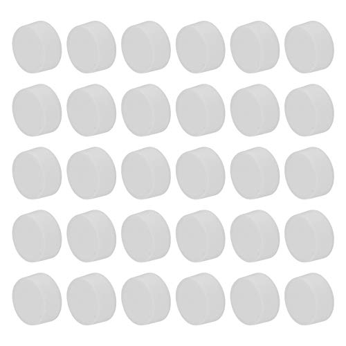 VILLCASE 48 tapas de repuesto para botellas de leche, botellas de zumo vacías