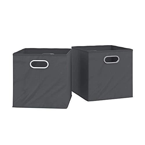 Vicco Faltbox 30x30 cm Faltkiste Aufbewahrungsbox Regalkorb Regalbox mit Metallösen/Passend Regalen