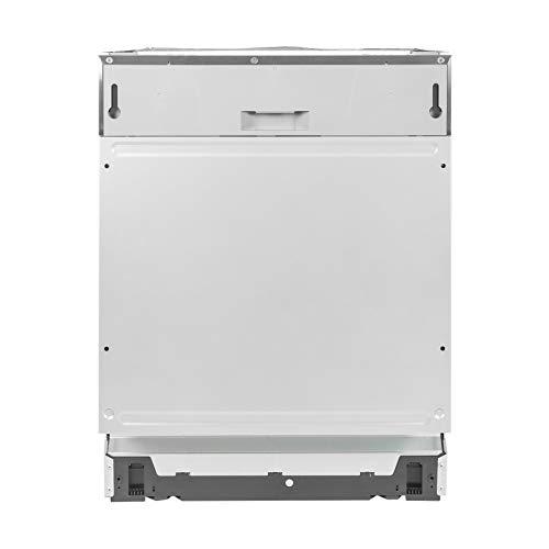 UNIVERSALBLUE | Lavavajillas 60 cm integrable INOX y Gris | Clasificación energética A++ | 6 Temperaturas | Función 3 en 1 | Filtros de Acero Inoxidable