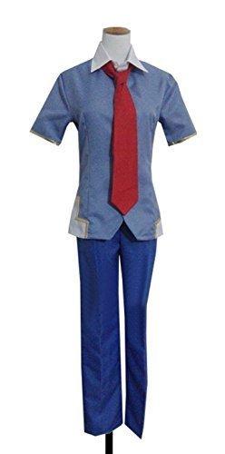 Dreamcosplay Anime Future Diary Yuno Gasai Blue Male School Uniform Cosplay