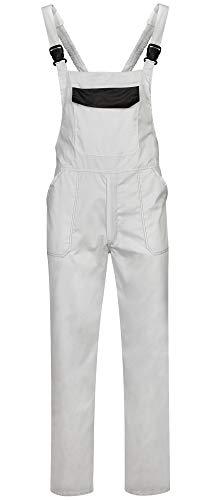 DINOZAVR Delta Herren Arbeitskleidung Arbeitslatzhose - Weiß S