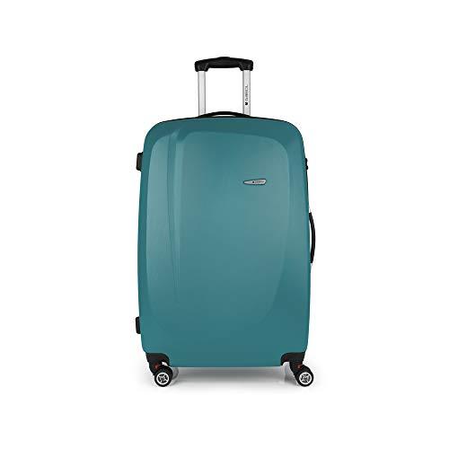 Gabol - Line | Maletas de Viaje Grandes Rigidas de 49 x 76 x 29 cm con Capacidad para 90 L de Color Turquesa