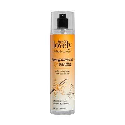 bodycology Free & Lovely Honey Almond & Vanilla Mist - 8 fl oz