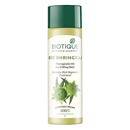 """Biotique Bhringraj thérapeutique Cheveux Oil-120ml–(lot de 3)–""""concernant les frais d'expédition gratuit par DHL Express–Livraison en 3–7jours–avec gratuit échantillon de produit"""