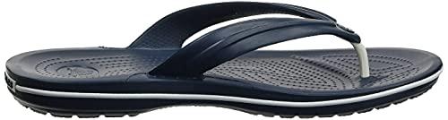 Crocs Crocband Flip, Unisex Zehentrenner, Blau - 9