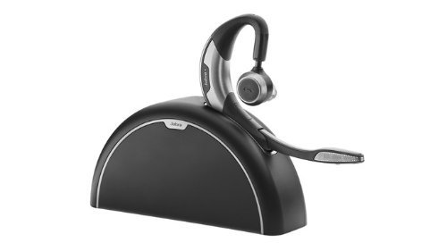 Jabra Motion UC+ MS Bluetooth-Mono-Headset für Smartphone und PC via Mini-Dongle, inkl. USB-Adapter/Reise- und Ladekit, ohne Netzteil, optimiert für Skype for Business