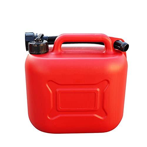 LUWEI Jerry Puede, Tanque de Combustible de Gas portátil, Tanques de plástico de Gasolina Monte la Motocicleta de la Motocicleta, el Recipiente de Aceite de Gasolina, Espesado antiestático,10L