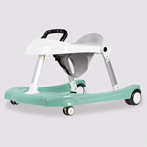 LFY U Type Baby Walker Deux Modes, Facile à Plier Trotteur