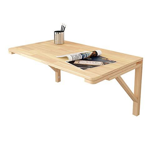 Kapsalon aan de muur gemonteerd Drop-Leaf Tafel voor kleine ruimtes, Opklapbare Keuken & Eettafel Bureau met Houten Frame, Makkelijk schoon te maken, Laad 40kg