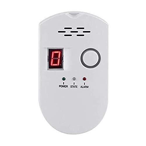 2019 New Propane/Natural Digital Gas Detector, Home Gas Alarm, Gas Leak Detector,High Sensitivity LPG LNG Coal Natural Gas Leak Detection, Alarm Monitor Sensor Home/Kitchen