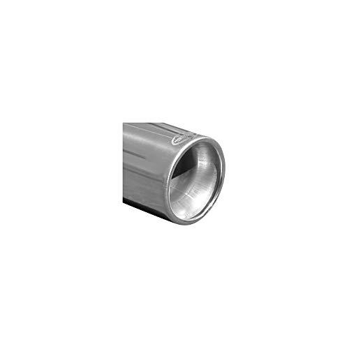 InoXcar REME.08.80 - Tubo de escape deportivo (100% acero inoxidable, Megane II 1.4, 16 V, 80-98 CV, 80 mm, acero inoxidable) ⭐