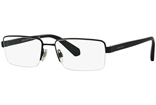Giorgio Armani Montures de lunettes Pour Homme 5053 - 3056: Matte Blue - 53mm