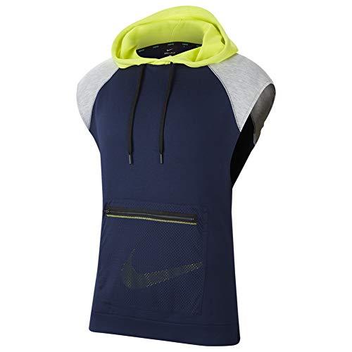 Nike Sleeveless Hooded Fleece Pullover CJ4746-410 Size M