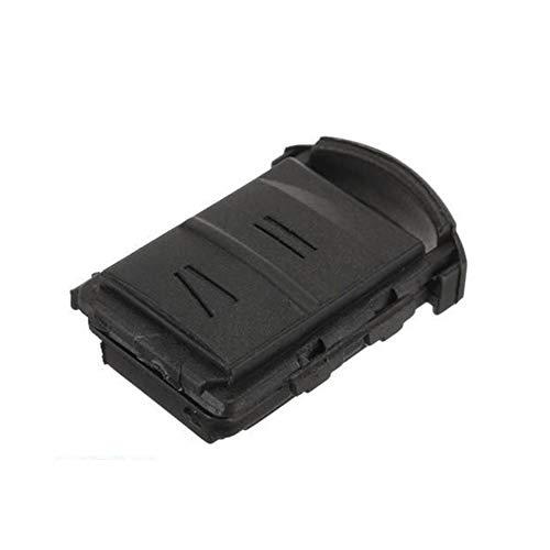 YSHtanj Key Shell Case Ontsteking Systeem Sleutel Cover Duurzame Afstandsbediening 2 Knoppen Sleutelhanger Case Cover voor Vauxhall Opel Corsa Meriva Combo - Zwart