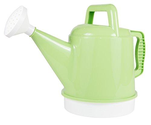 Bloem Deluxe Watering Can, 2.5 Gallon, Honey Dew (DWC2-25)