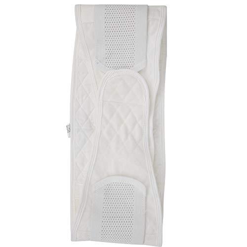 Postnataler Bauchgürtel, Taillen-Schlankheitsbänder, ein eng anliegendes Double-U-Design für die Schwangerschaft von Frauen(white, M)