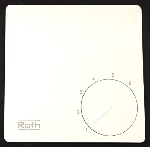 Roth Basicline H 230V, Raumthermostat, Raumregler, 1135007402