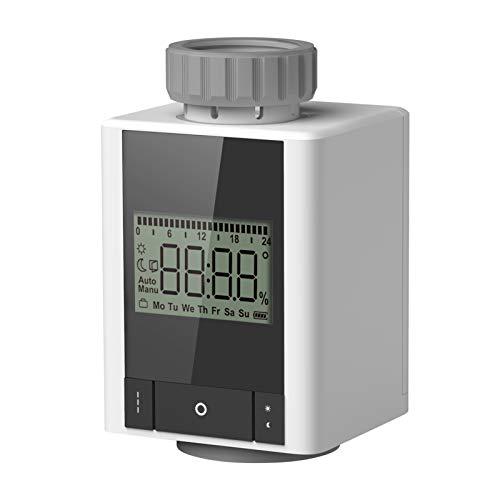 Galapara Programmierbarer Heizkörperthermostat intelligente Heizung Heizkörper Thermostat APP Steuerung mit dem ZigBee Funkstandard kompatibel ist kompatibel mit Alexa und Google Home
