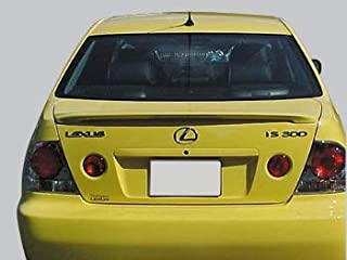 Spoiler for a Lexus IS300 Factory Style Spoiler-Black Paint Code: 202