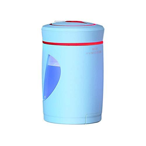raumbefeuchter kinderzimmer - Multifunktionaler Luftbefeuchter zur Luftreinigung und Wasserauffüllung-Blau