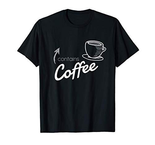 Kaffee Liebhaber  Koffein Bohnen Energie Frühstück Aroma T-Shirt