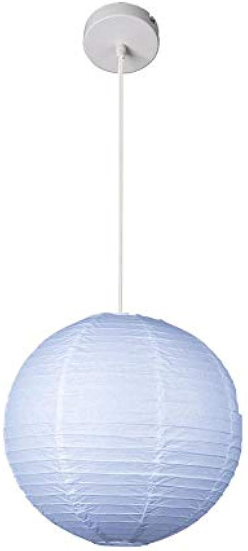 Xiadsk licht, Lampe, Laterne Loft Einfache Papierlampe Laterne Pendelleuchte Led-Beleuchtung Esszimmer Cafe Bar Store Restaurant Droplight