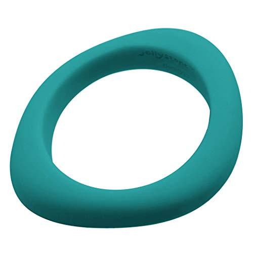 Jellystone-Design : asymetrischer Bracelet Anneau de dentition, couleurs assorties